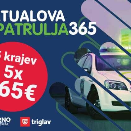 Novih 365€ za Aktualovo patruljo 365