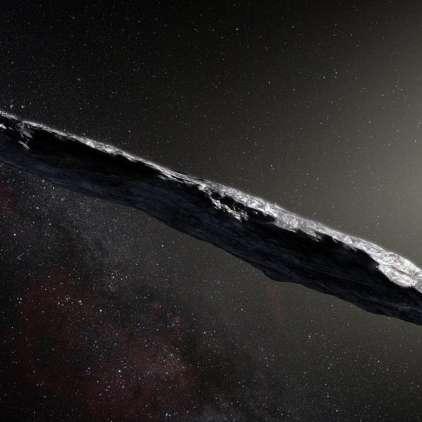"""""""Cigara"""" bi lahko bila kaj več kot le asteroid. Vesoljska ladja? To možnost dopušča tudi Hawking"""