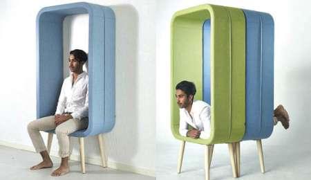Okvir, ki je hkrati tudi stol