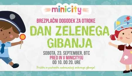 Minicity brezplačno vabi na DAN ZELENEGA GIBANJA
