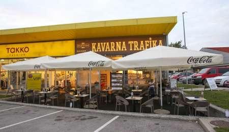 Kavarna Trafika v Domžalah