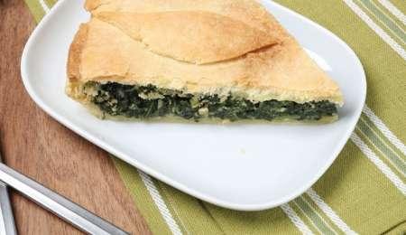Italijanska pita z mlado blitvo »erbazzone«
