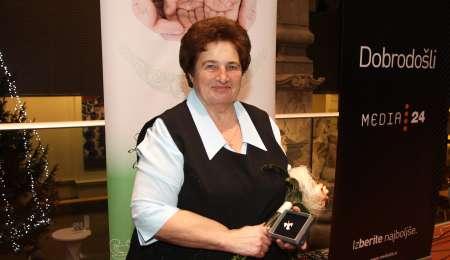 Dobri človek leta 2017 je Marija Antolin