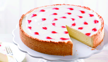 Skutna torta za zaljubljene