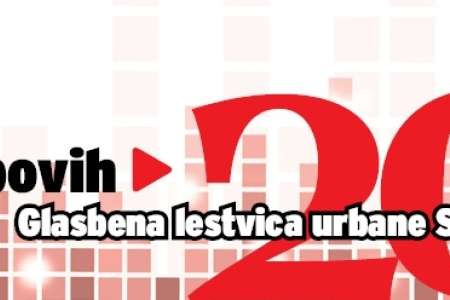 Vklopovih 20: glasbena lestvica urbane Slovenije