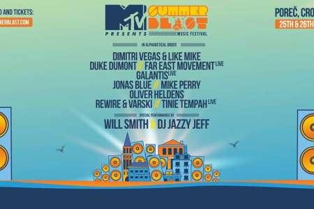 UJEMI KARTE ZA MTV SUMMERBLAST