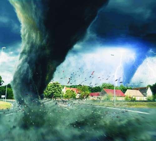 Bolj kot vojne in bolezni nas ogroža podivjano  vreme