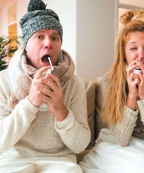 Gripa prihaja s polnim zamahom