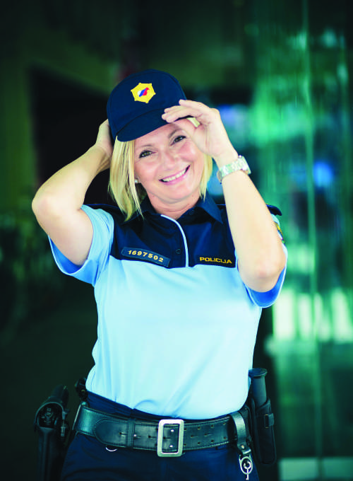 MIrela Čorić, pogumna policistka