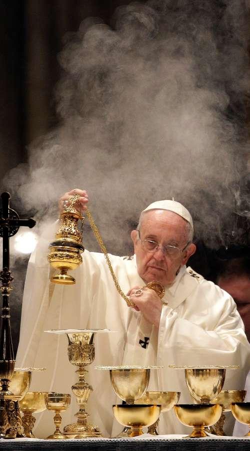 Frančišek in Satanov dim