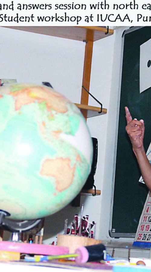 Upokojeni učitelji imajo potujoči znanstveni laboratorij