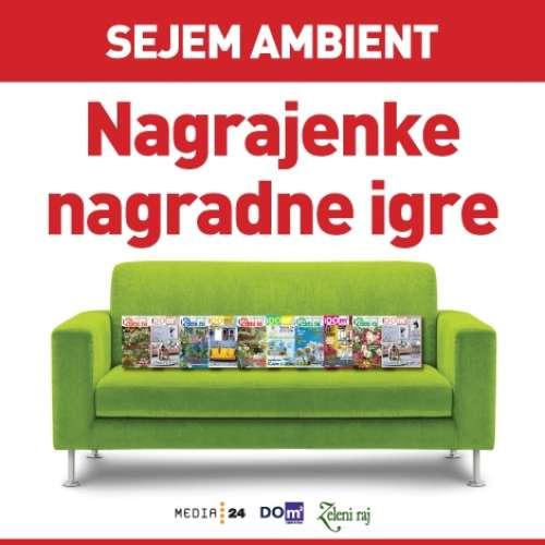 Nagrajenke nagradne igre s sejma Ambient