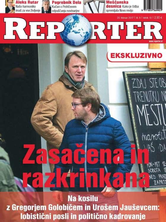 Nova številka REPORTER