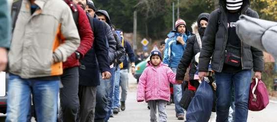 mignrati, nemško avstrijska meja