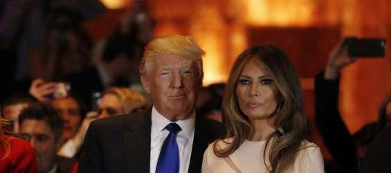 Melanija in Donald Trump