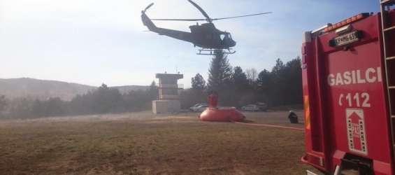 helikopter, strelišče slo vojske