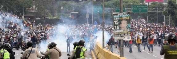 Med protesti v Venezueli aretirali več kot 2800 ljudi