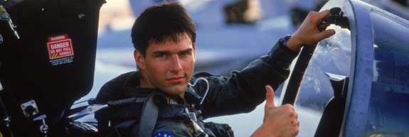 Tom Cruise bo v Top Gun 2 znova letel