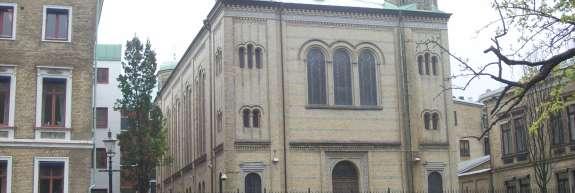 Poskus požiga sinagoge na Švedskem