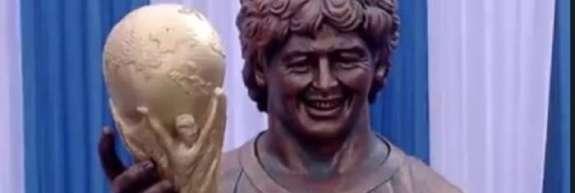 Tudi Maradone kipar ni najbolj zadel