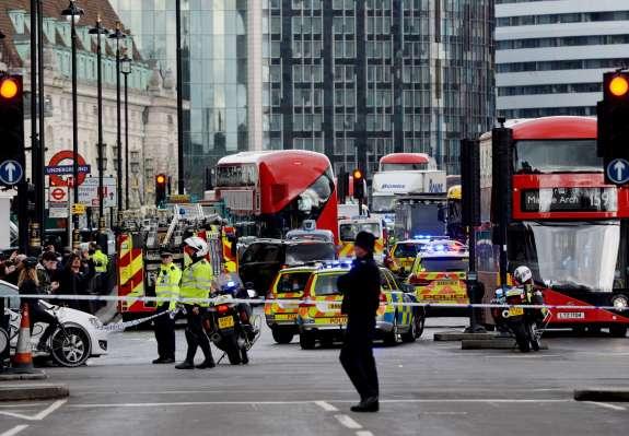 Londonski terorist identificiran; sedem ljudi pridržanih