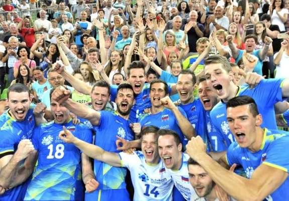 Slovenski odbojkarji odslej v zlati evropski ligi