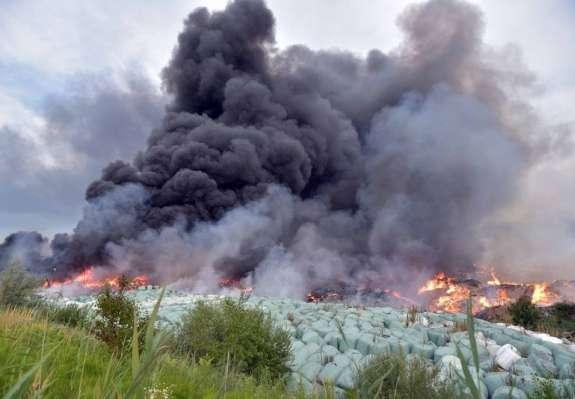 Požar v Ekosistemih že tretji letošnji požar v predelovalnicah odpadkov