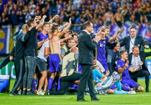 Maribor slavi, nogometaši so v skupinskem delu lige prvakov!