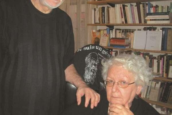 Svetlana Slapšak z možem Božidarjem