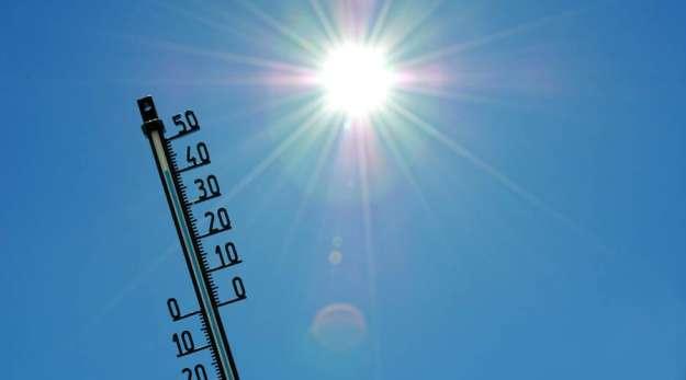 Danes visoke temperature, ki se lahko izrodijo v vremenske ujme