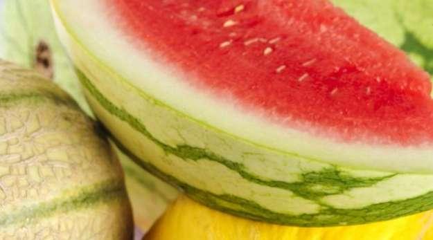 Hladne lubenice in melone