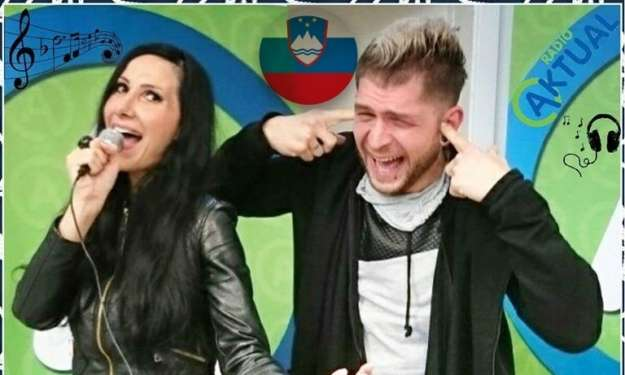"VIDEO! Klemen & Anita posnela pesem ""CESARICA ILKA"""