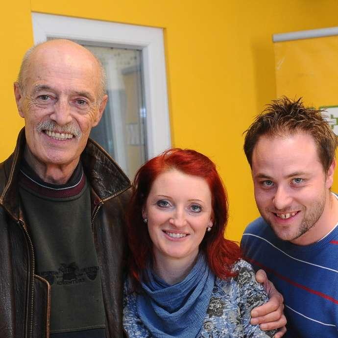 Tadeja Hrušovarja sta v studiu gostila Janja Ulaga in Mitja Grajzar.