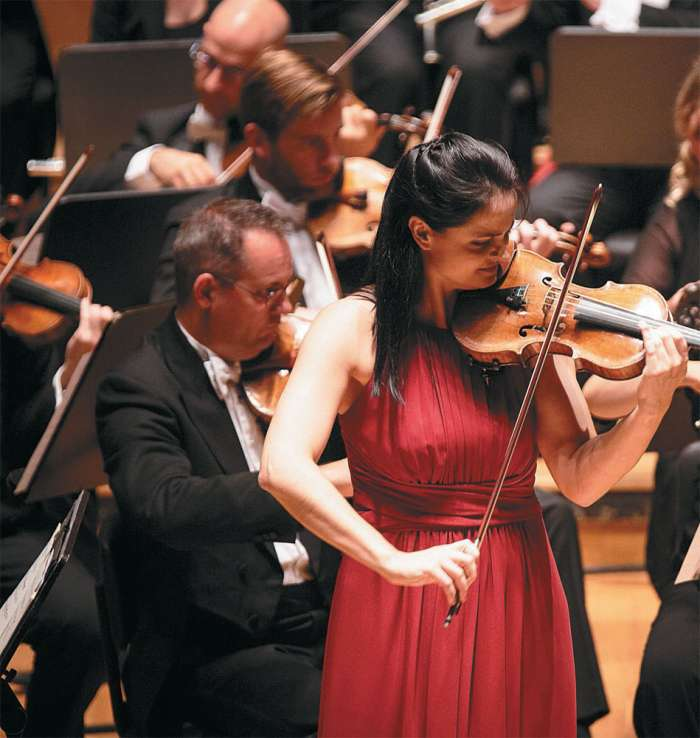 Lana Trotovšek, violinistka in nekdanje dekle Stjepana Hauserja.