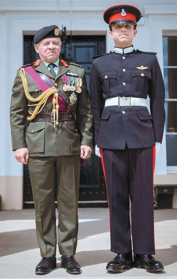 Princ Husein je diplomiral