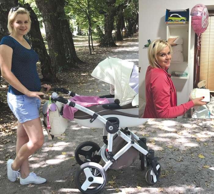 Darja Gajšek uživa v materinstvu