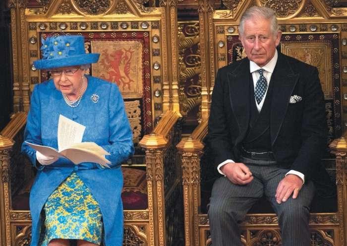 Družinske zdrahe v Buckinghamski palači