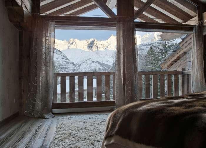 Dom z razgledom na Mont Blanc