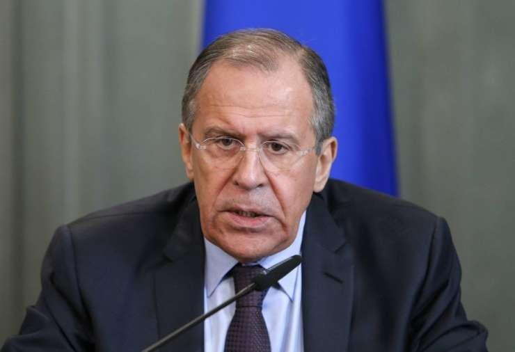 """Lavrov: Američani so si izmislili dopinški škandal, ker Rusov """"ne morejo premagati na pošten način"""""""