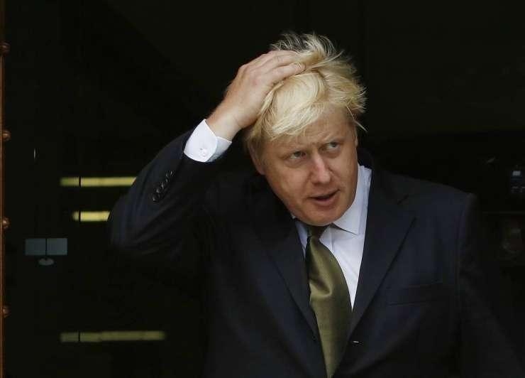 Britanski zunanji minister Johnson pri Cerarju, Erjavcu in Pahorju