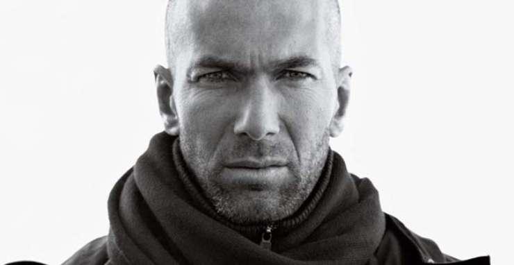 Zinedine Zidane kot maneken španske modne verige Mango