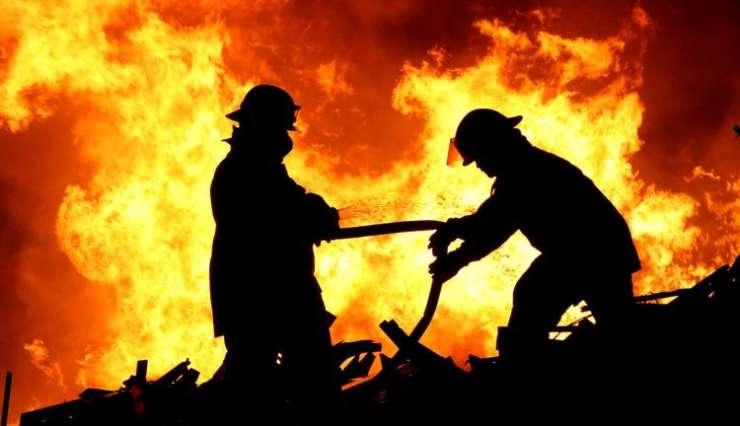 Val vročine ob požaru v Notranjih goricah poškodoval žensko
