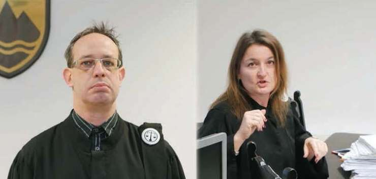 Prve fotografije sodnikov, ki so svoje obraze skrivali pred javnostjo