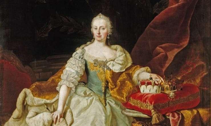 Dinamična in odločna vladarica Terezija