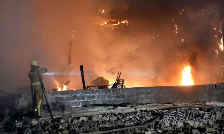 V požaru pri Gornji Radgoni zgoreli prašiči