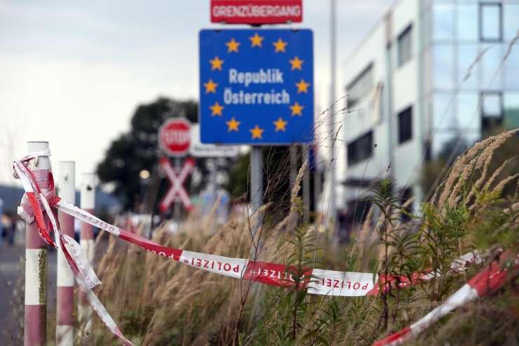 Po Nemčiji naj bi tudi Avstrija podaljšala nadzor na mejah