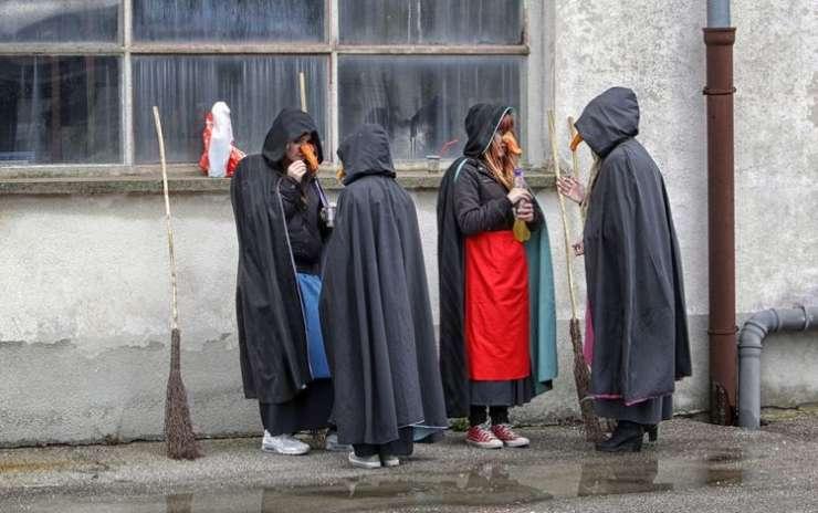 Kurenti, Butalci in pramater Uršula; danes vrhunec pustnih karnevalov