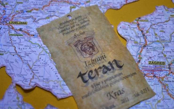 Bruselj: Hrvaški izjemoma uporaba imena teran, a ta je še naprej slovensko vino s Krasa