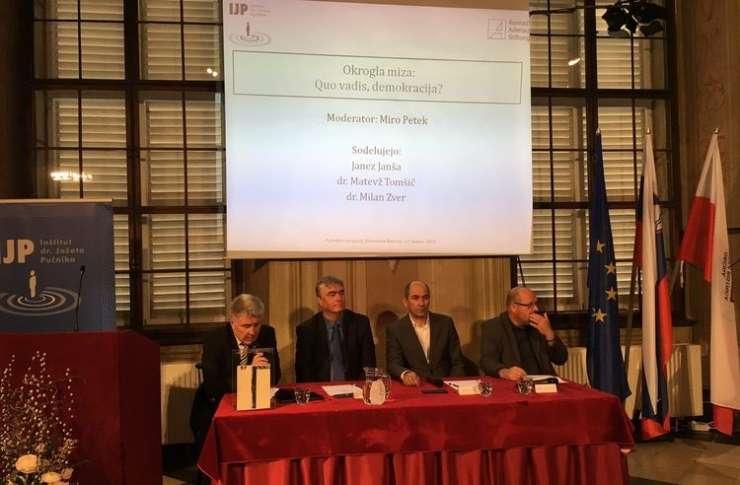 Janša: V ospredje mora spet priti vprašanje prihodnosti Slovencev