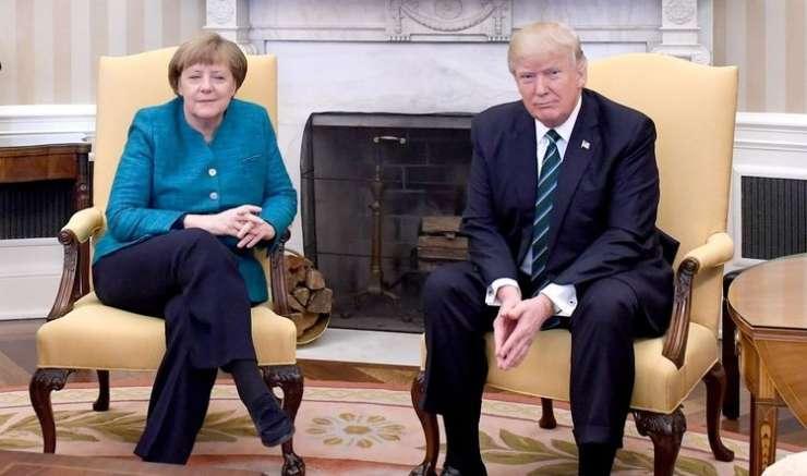Trump opomnil Merklovo: Nemčija nam dolguje ogromno denarja